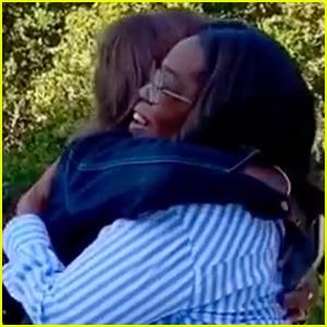 Oprah Winfrey & Gayle King Reunite After Testing Negative for Coronavirus