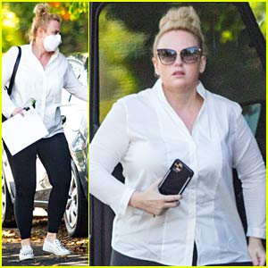 Rebel Wilson Runs Errands in L.A. After Trip to Monaco
