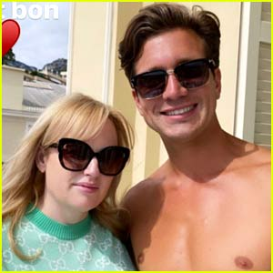 Rebel Wilson Poses with Shirtless Boyfriend Jacob Busch During Monaco Trip