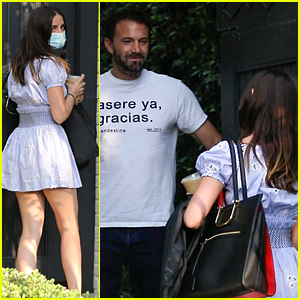 Ben Affleck & Ana de Armas Spotted Together for First Time in Months!