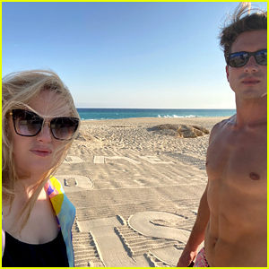 Rebel Wilson Shares Photos from Beach Getaway with Boyfriend Jacob Busch!