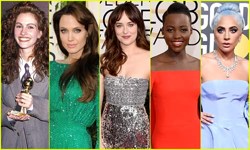 Golden Globes Best Dressed - Our Top 20 Favorite Red Carpet Looks Ever!