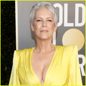 Jamie Lee Curtis Jokes About Her Plunging Golden Globes 2021 Dress