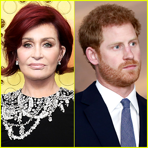 Sharon Osbourne Considers Prince Harry to Be the 'Poster Boy' of White Privilege