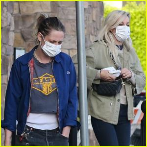 Kristen Stewart Grabs Groceries with Girlfriend Dylan Meyer